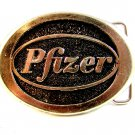 1970's - 80's Pfizer Belt Buckle by Frank's Products