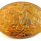 Vintage Pony Express Belt Buckle by Commemorative Mint