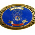1970'S Teamsters I. B. of T. C. W. & H. of A. Local 848 Belt Buckle by Amica