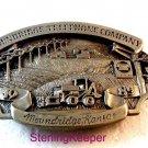 Vintage 1986 Siskiyou Moundridge Kansas Telephone Company Belt Buckle