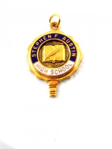 Stephen F. Austin High School Houston Texas Charm / Pendant / Key 52714 #2