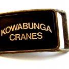 Vintage Kowabunga Cranes Belt Buckle