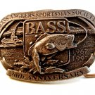 30th Anniversary B.A.S.S. Bass Anglers Sportsmans Society Belt Buckle