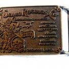 Vintage Sears Roebuck & Co. Catalogue No. 104 Belt Buckle