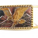 American Eagle 2 Tone Belt Buckle 62514