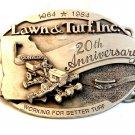Vintage 1964 - 1984 Lawn & Turf, Inc. Belt Buckle by Siskiyou