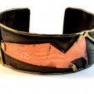 Vintage Modernist Style Copper Bracelet