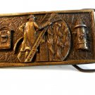 Vintage Fireman Ladder Belt Buckle