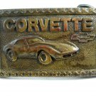Vintage Corvette Chevrolet Belt Buckle 6914