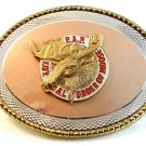 Vintage Loyal Order of Moose P.A.P. Belt Buckle