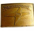 Vintage TMC Texas Mining Company Belt Buckle 12022013