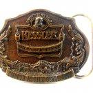 Vintage Kessler American Whiskey Belt Buckle Limited Edition