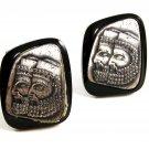 Profile of 2 Assyrians Cufflinks by Swank 22414