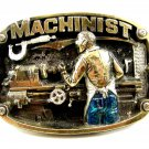1986 Machinist Belt Buckle by Great American Buckle Company 092614