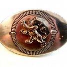 Vintage Lion w/ Tongue Stuck Out Belt Buckle Lowenbrau or just A Smartelick Lion