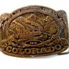 Vintage 1876 - 1976 Colorado Centennial Belt Buckle by C.D.C.