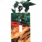Bird Single Light Switch Cover Plate by Steel Images Made in USA 51515