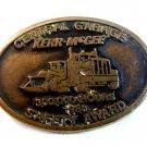 Vintage Central Garage Kerr McGee 1988 Safety Award Belt Buckle