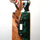 Bear Single Light Switch Cover Plate by Steel Images Made in USA 02161511111Z
