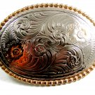 Fancy Western Belt Buckle Made In USA 2192014