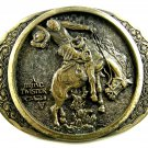 Bronc Twister C.M. Russell Western Collection Belt Buckle by ADM 092314