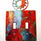 Sun Double Light Switch Cover Plate by Steel Images Made in USA 02161511111P