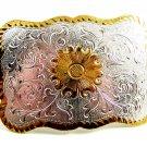 Western Cowgirl Rodeo Belt Buckle Unmarked 2182014