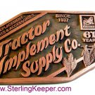 1998 Tractor Implement Supply Co. Belt Buckle Limited Edition
