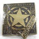 1996 Atlanta Olympics USA Shooting Team Gold Belt Buckle 82014 Mint