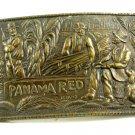 Capt. Hawks Sky Patrol Panama Red Belt Buckle 10312013