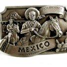 1985 Mexico Comemorative Belt Buckle by Arroyo Grande 102314