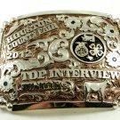 2012 Houston County Fair Top Interview Juniors Belt Buckle 10312013