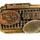 San Francisco 49ers NFL Officially Licensed Belt Buckle 2052013