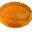 Bakersfield Golden Empire Transit District Belt Buckle
