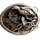 1986 Duck in Flight Hunters Belt Buckle by Bergamont