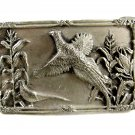 Ring Necked Pheasant Belt Buckle by Siskiyou 81914
