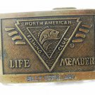 Life Member Belt Buckle by North American Fishing Club 7215 Billy Copeland
