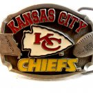 1996 Kansas City Chiefs NFL Football Belt Buckle