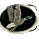 Made in USA 1983 Duck in Flight Belt Buckle 11112013