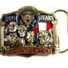 200 Years American President Belt Buckle by American Commemoratives 62614