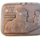 Kansas Small Mines Rescue Contest 1989 Belt Buckle