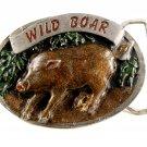 1986 Wild Boar Enameled Belt Buckle 51514 by C&J Inc