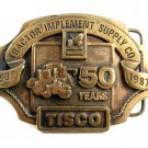 1986 Tractor Implement Supply Co 50 Years TISCO Belt Buckle 10242013