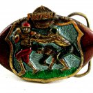 Football Belt Buckle by Great American Buckle Co. 2052013