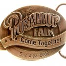 2002 Siskiyou Puyallup Fair Come Together Belt Buckle