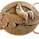 2000 Siskiyou 100 Years Puyallup Fair Belt Buckle