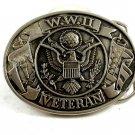 W.W. II Veteran Belt Buckle 11042013
