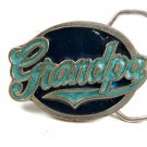 1987 Grandpa Enameled Belt Buckle by Great American Buckle 2202014