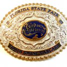 Florida State Fair Grand Champion Youth Swine Belt Buckle - Crumrine