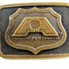1976 American Parts Brass Belt Buckle by Adezy
